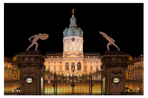 Charlottenburg-Palace-Germany-Night